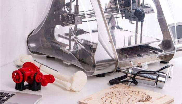 3d tulostimella voi tulostaa vaikkapa hampaan proteesin mallin
